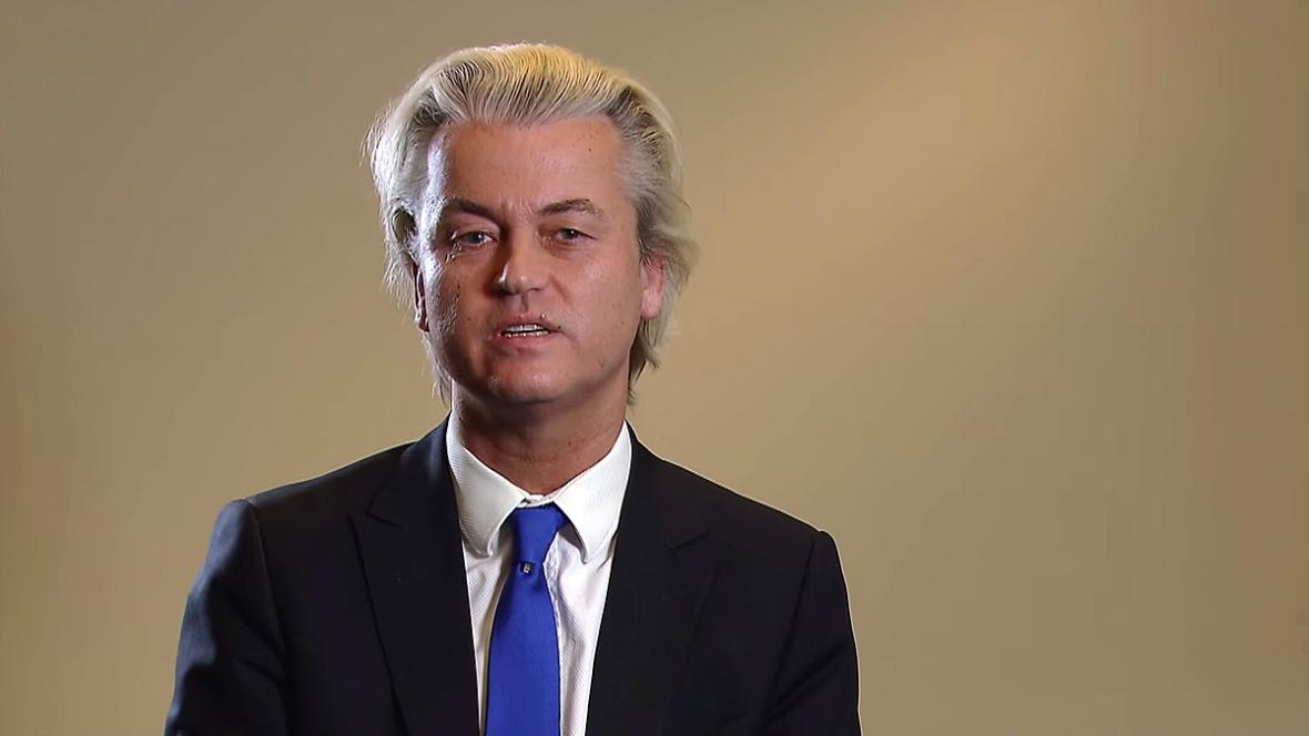 Geert Wilders v předvolebním spotu ukázal karikatury proroka Mohameda