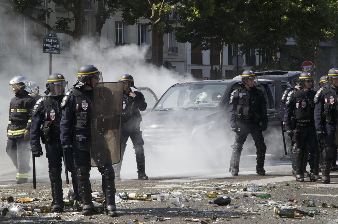 Francouzi proti Uberu