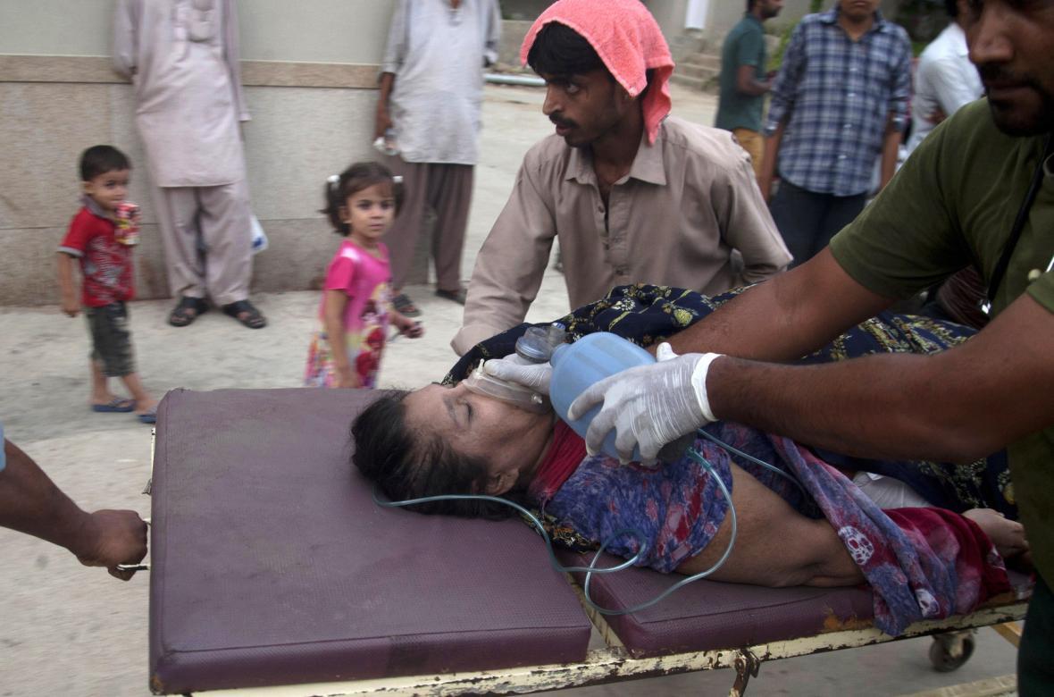 Horka v Pákistánu