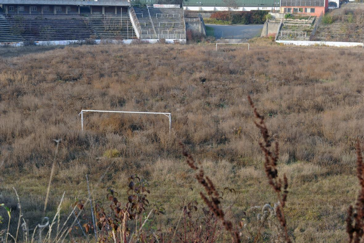 Stadion Za Lužánkami v roce 2011