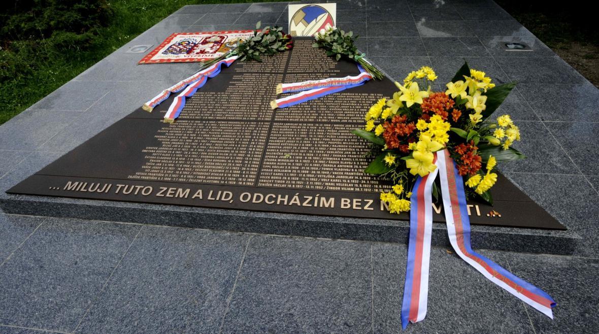 Pomník Milady Horákové v Praze
