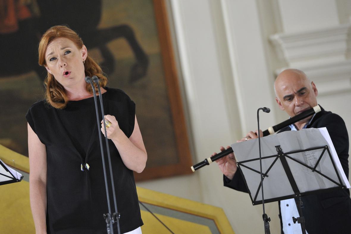 Mezzosopranistka Magdalena Kožená