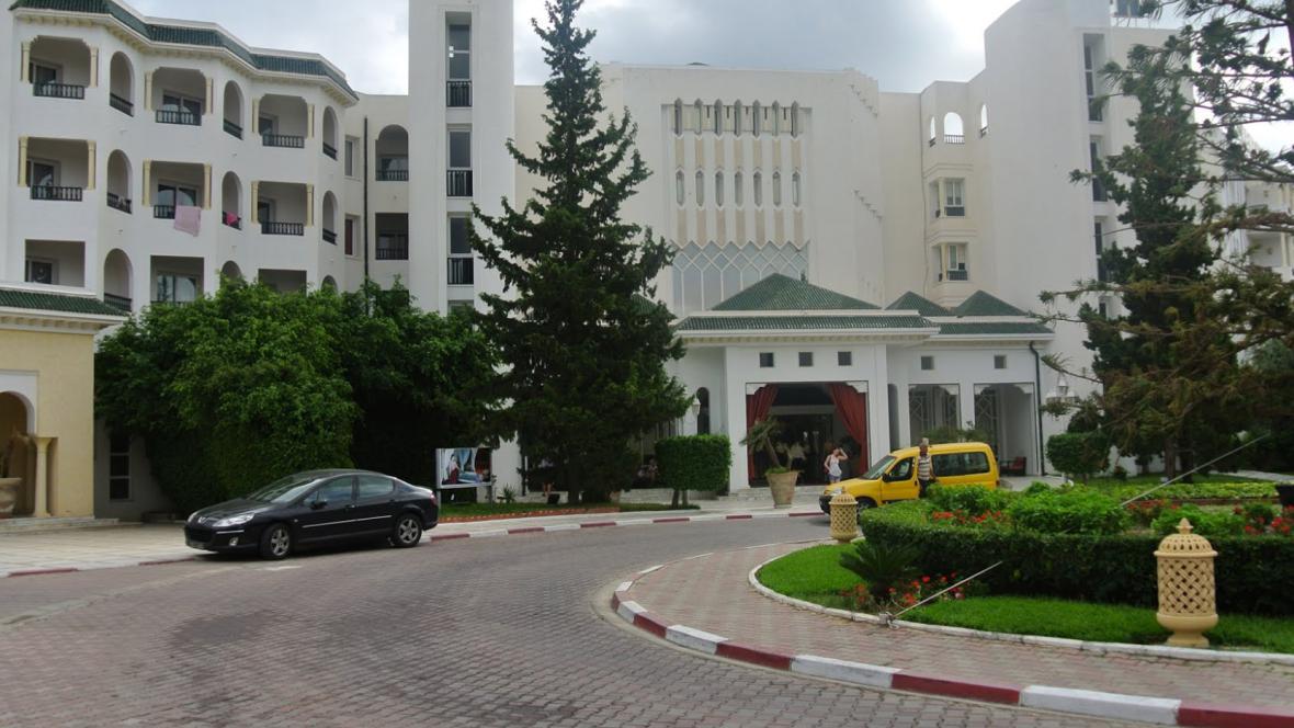 Hotel Royal Kenz v Sousse v Tunisku