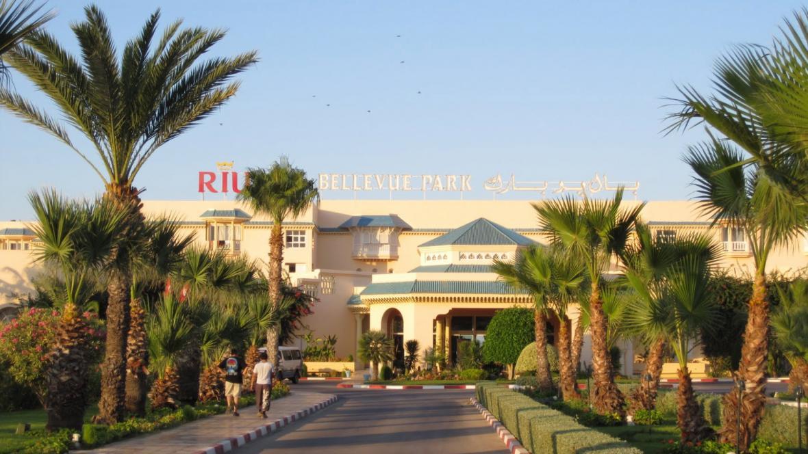 Hotel Bellevue v Sousse v Tunisku