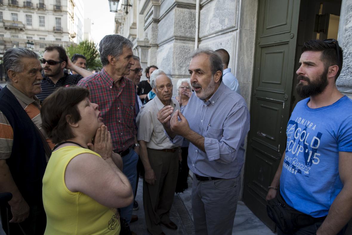 Řecké banky zůstaly zavřené