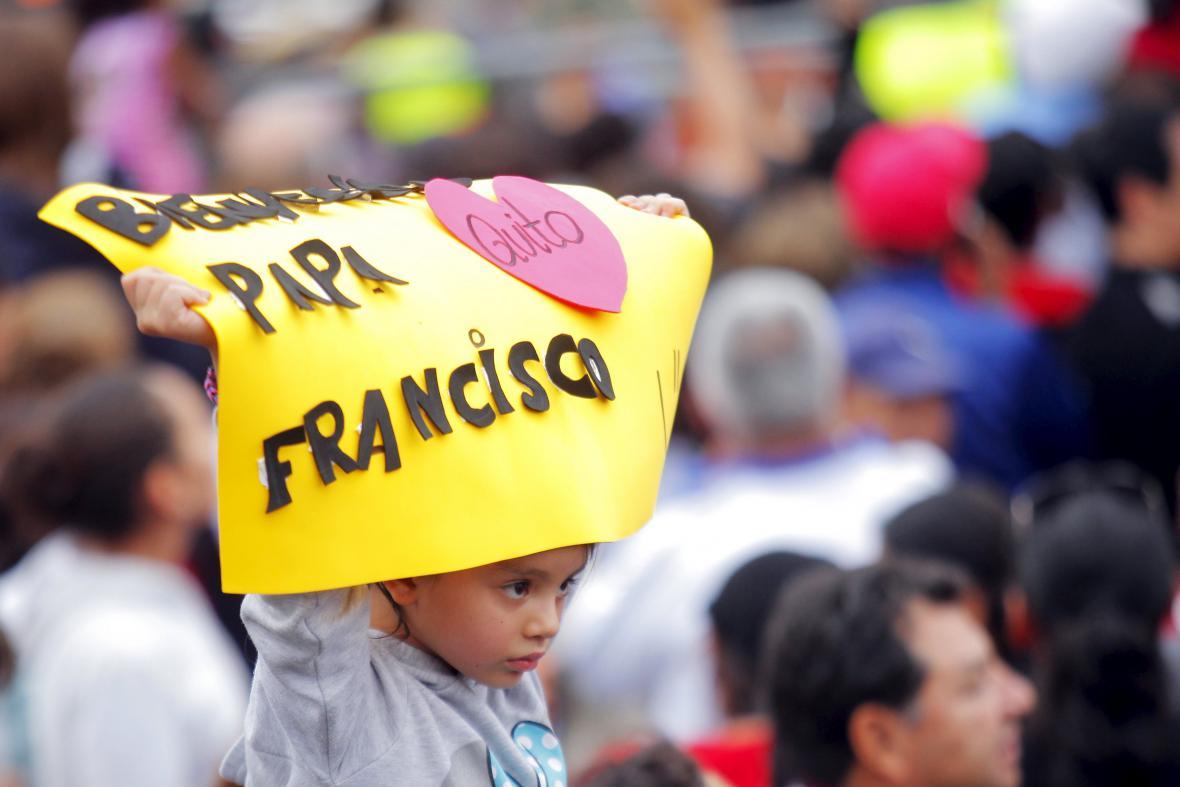 Papa Francesco v Ekvádoru