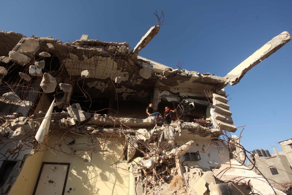 Zkáza v Pásmu Gazy
