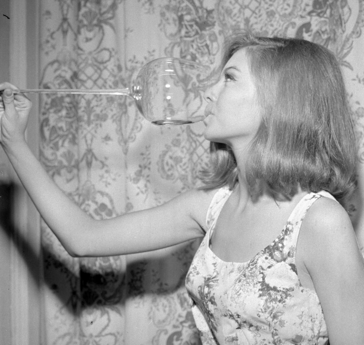 Dívka 1966 Dagmar Silvínová