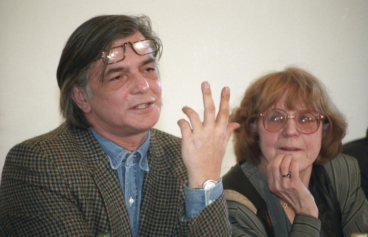 Jiří Bartoška a Eva Zaoralová (30. MFF Karlovy Vary)