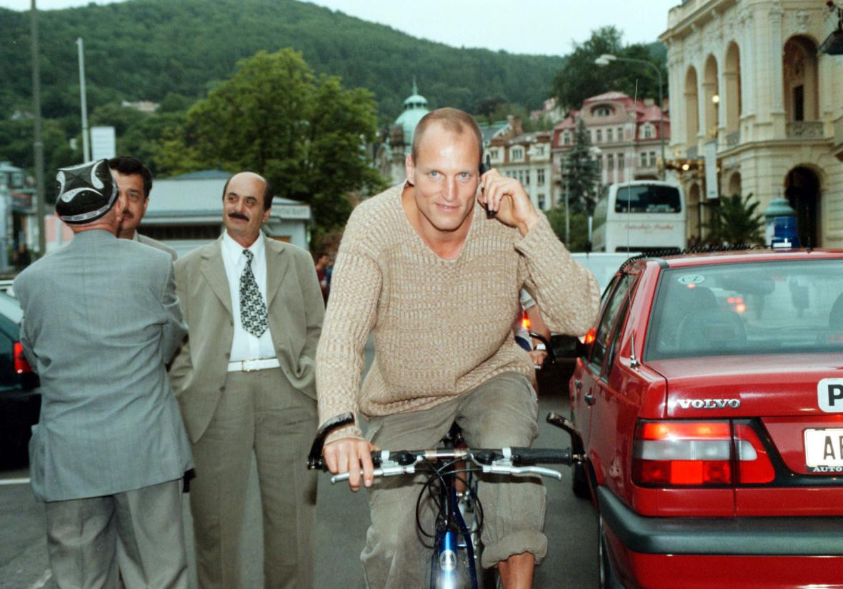 Woody Harrelson na MFF Karlovy Vary (1999)