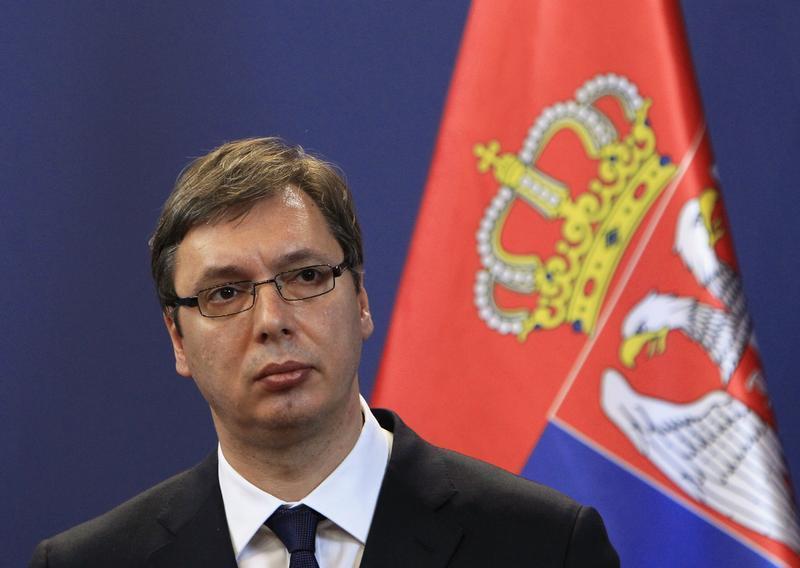 Srbský premiér Alexandr Vučić