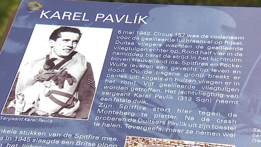 Pamětní deska v belgickém Ypres