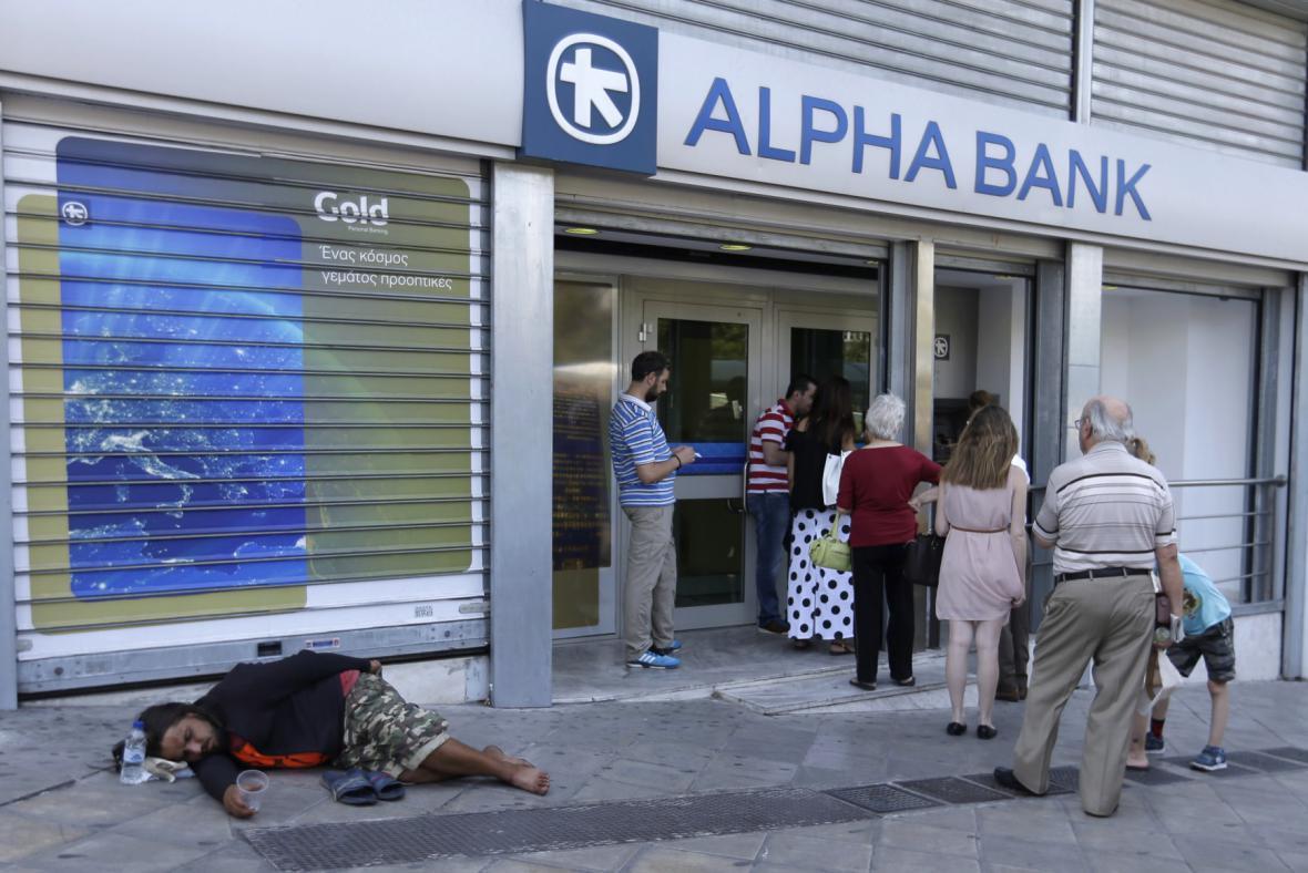 Řecké banky
