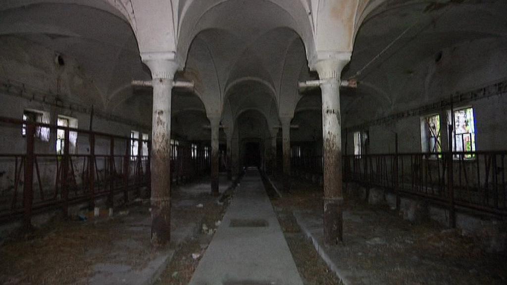 Interiér Hukvaldského dvora