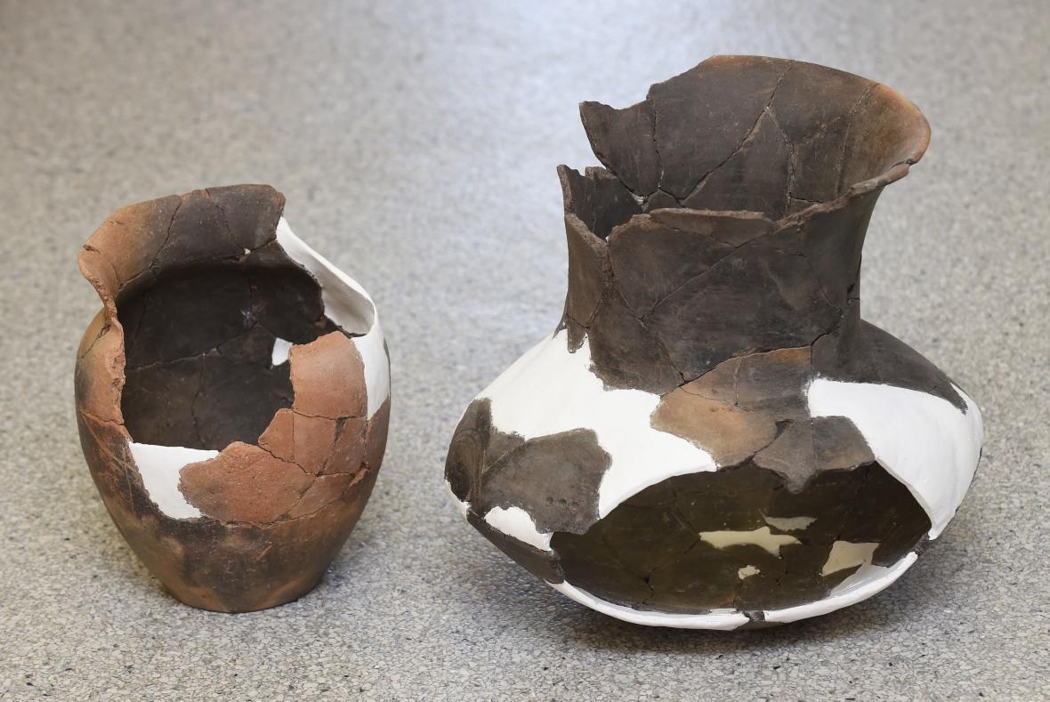 Archeologické nálezy z pozdní doby bronzové