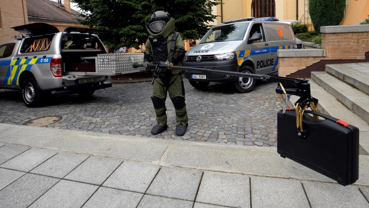 Výbava policejních pyrotechniků