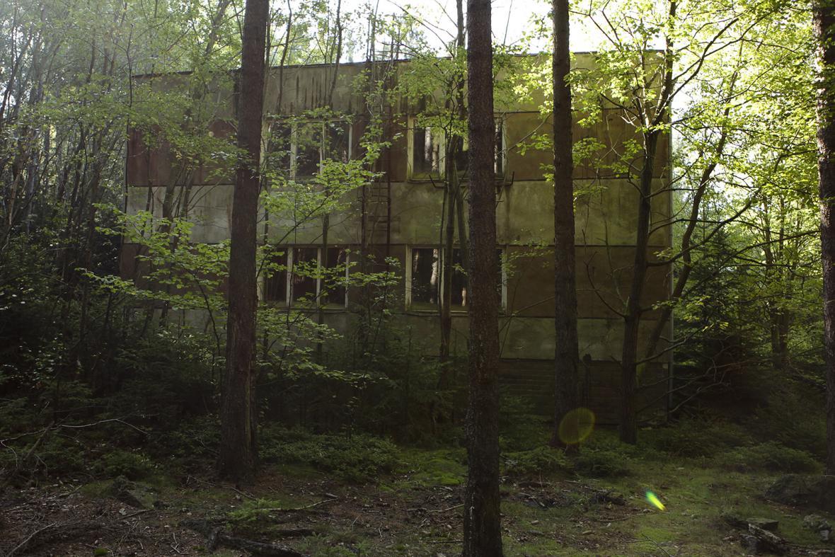 Areál bývalých kasáren v Míšově