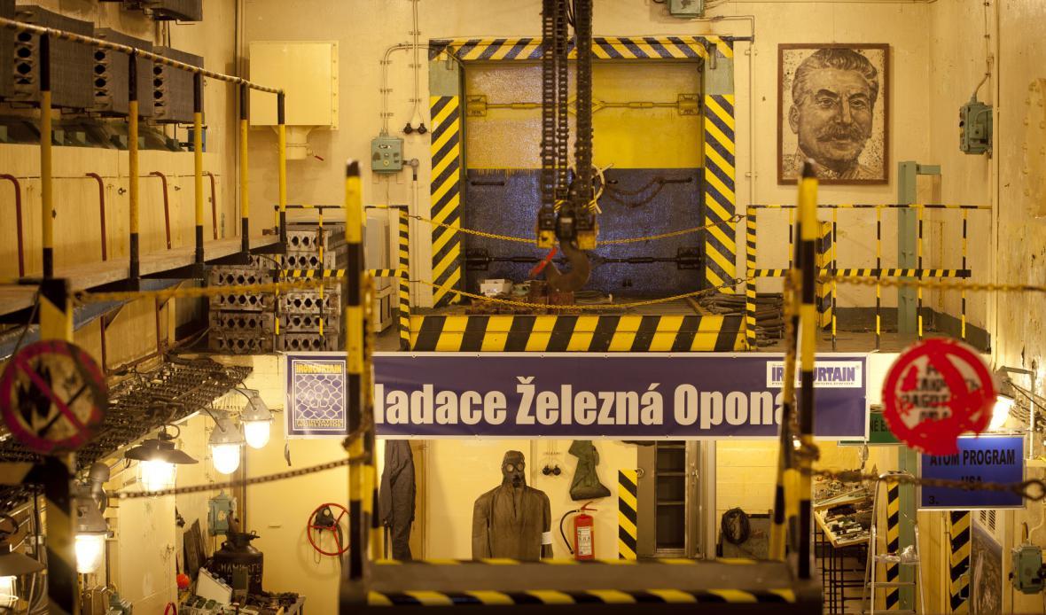 Atom muzeum v areálu bývalých kasáren v Míšově