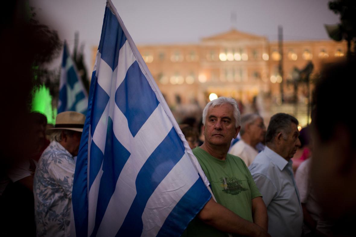 V centru Atén se znovu sešli odpůrci nové dohody