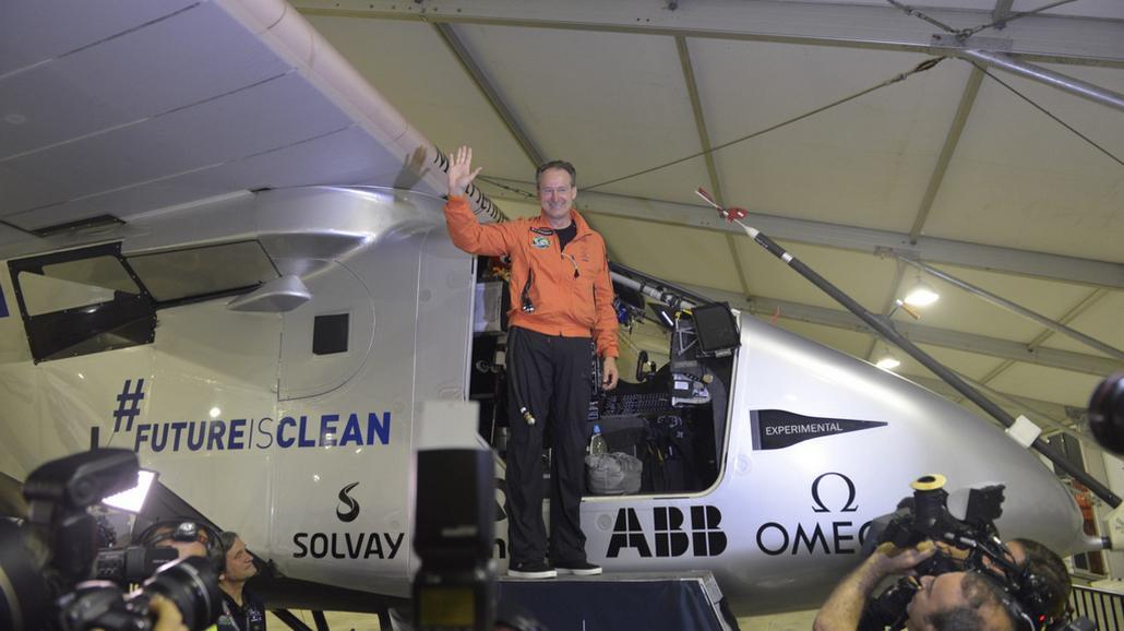 Pilot Bertrand Piccard