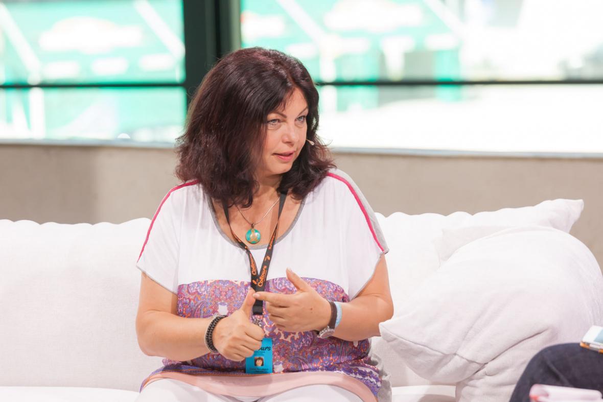 Zlata Holušová, první dáma multižánrového festivalu