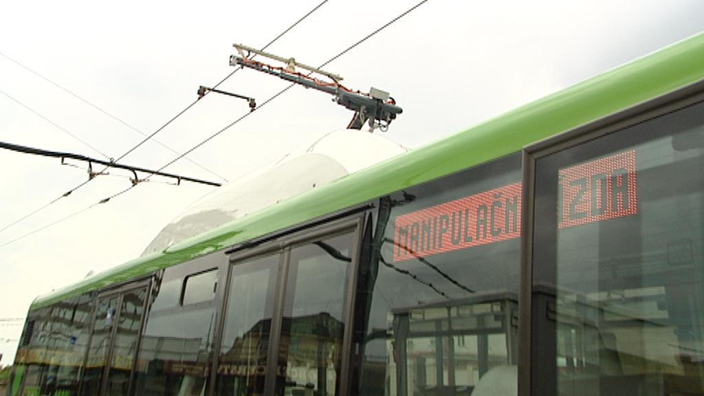 Napájení elektrobusu