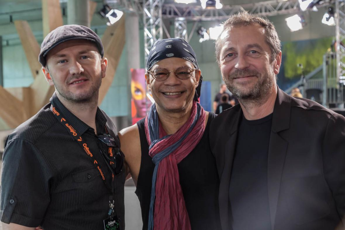Fernando Saunders, Jiří Zabystřan a Karel Holas