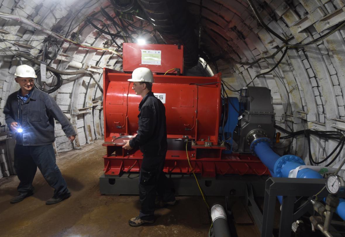 Přečerpávací elektrárna Dolu Jeremenko