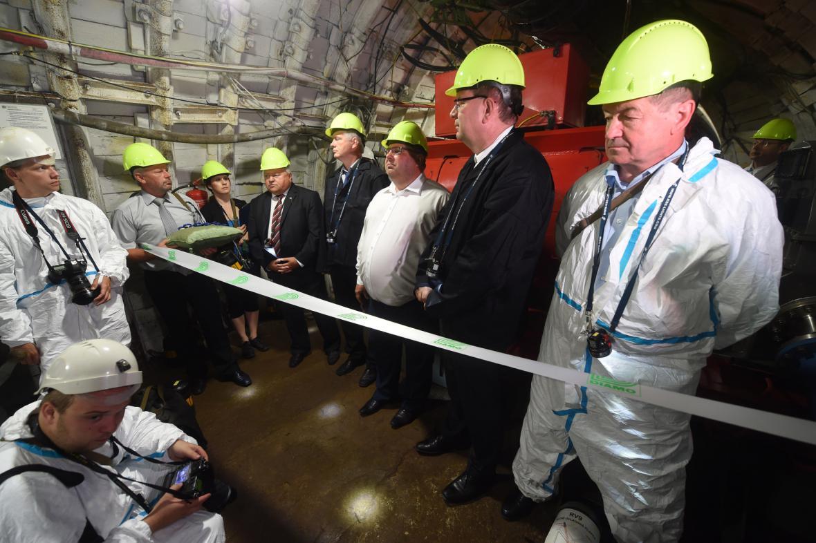 Zahájení provozu přečerpávací elektrárny v Dole Jeremenko