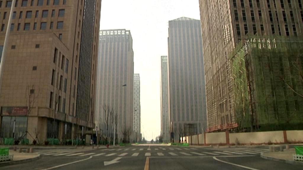 Město duchů v Číně