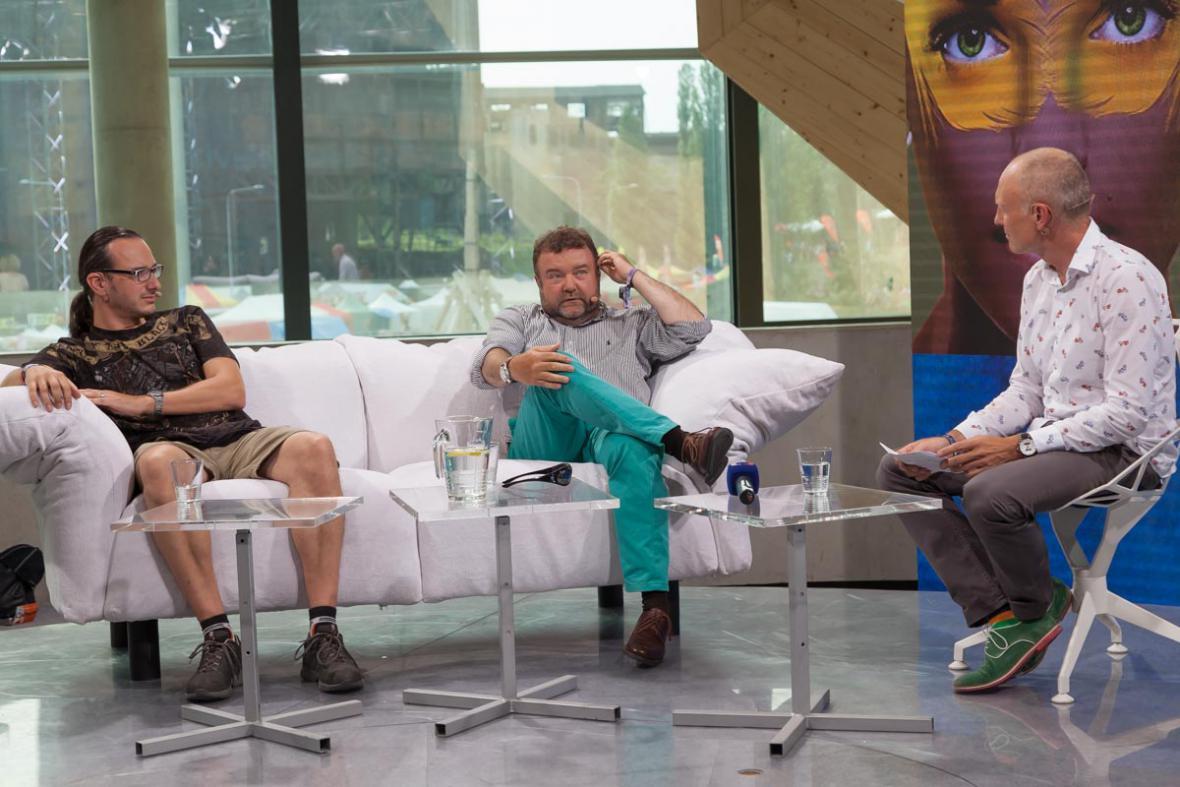 Jakub Szántó, Miroslav Karas, Petr Vizina