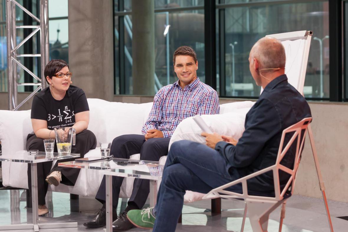 Gabriela Cihlářová, Daniel Stach a Petr Vizina