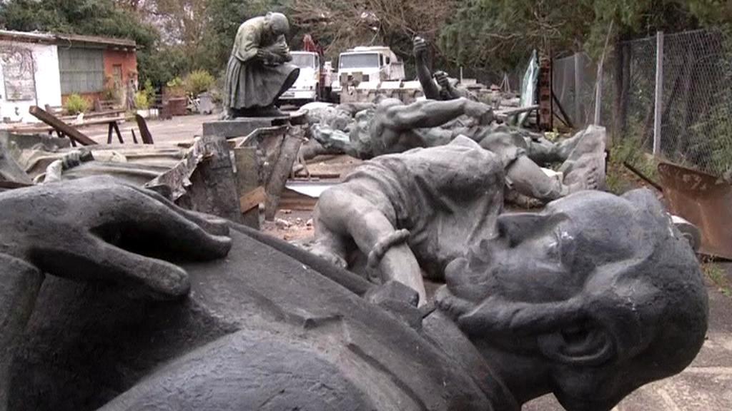 Nemocnice pro sochy v Buenos Aires