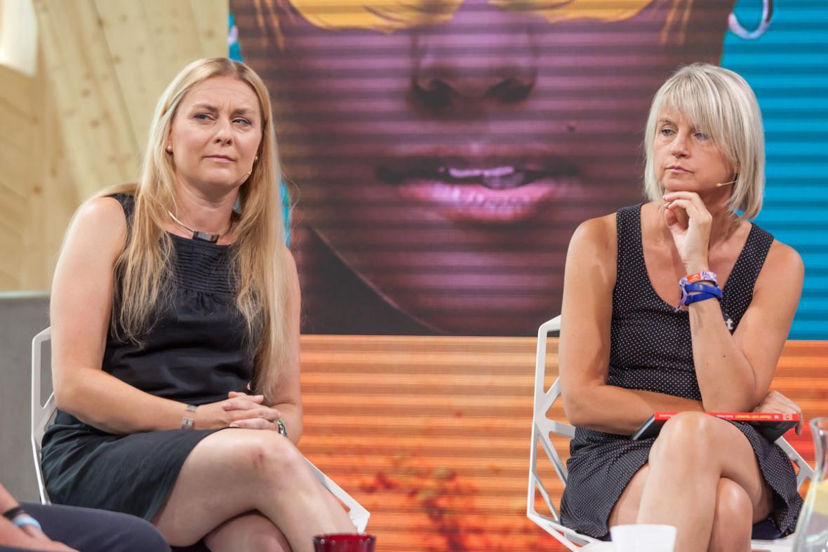 Kamila Teslíková a Jana Chytilová