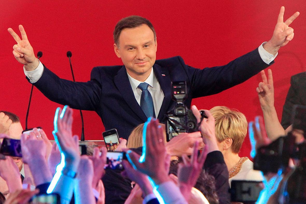 Nový polský prezident Andrzej Duda