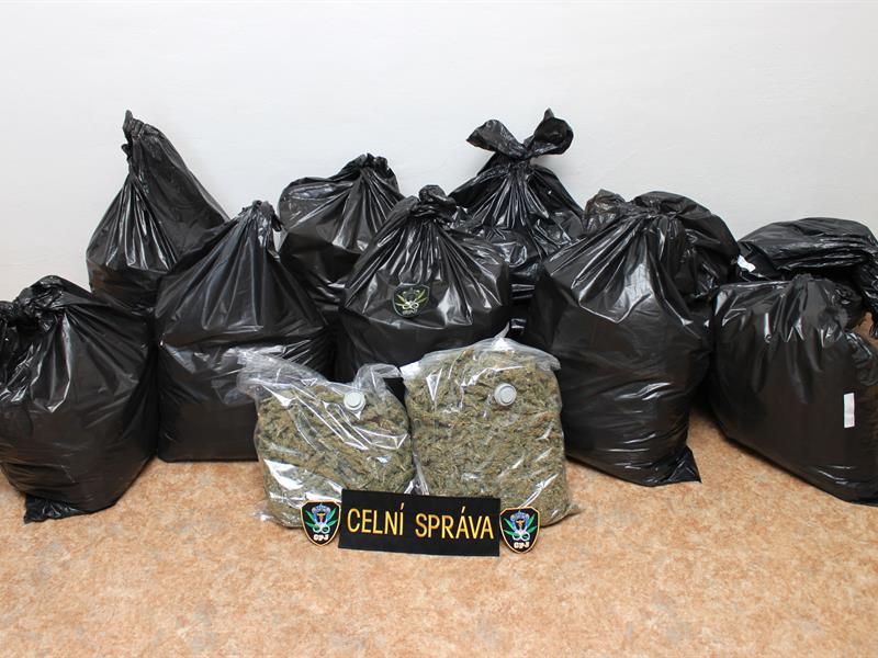 Zabavená marihuana