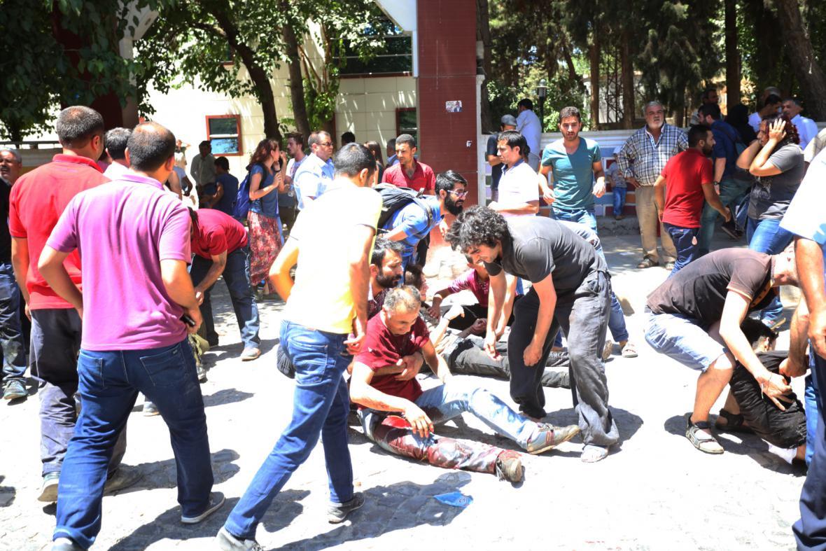 Útok ve městě Suruc