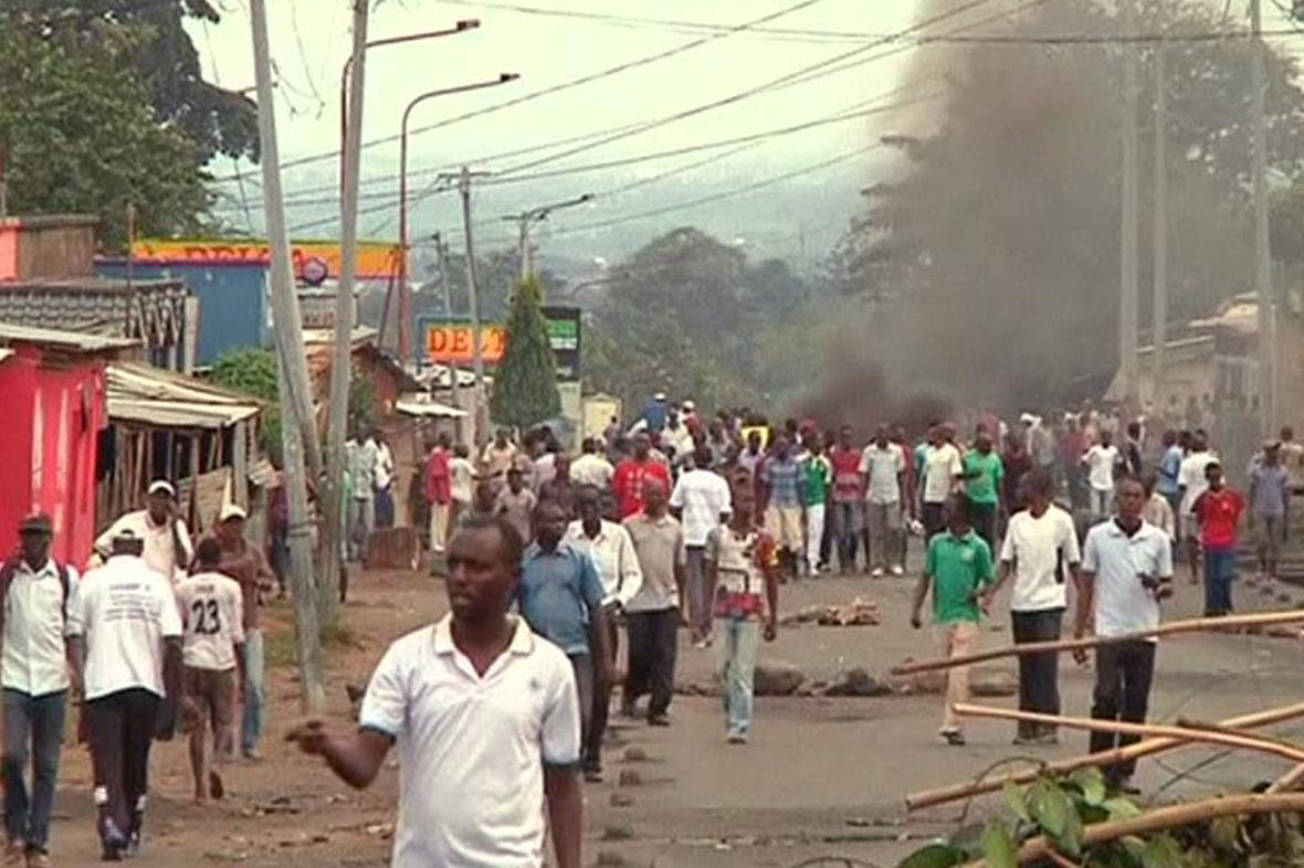 Nepokoje v Burundi
