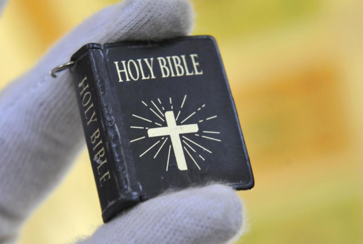 Miniaturní provedení bible