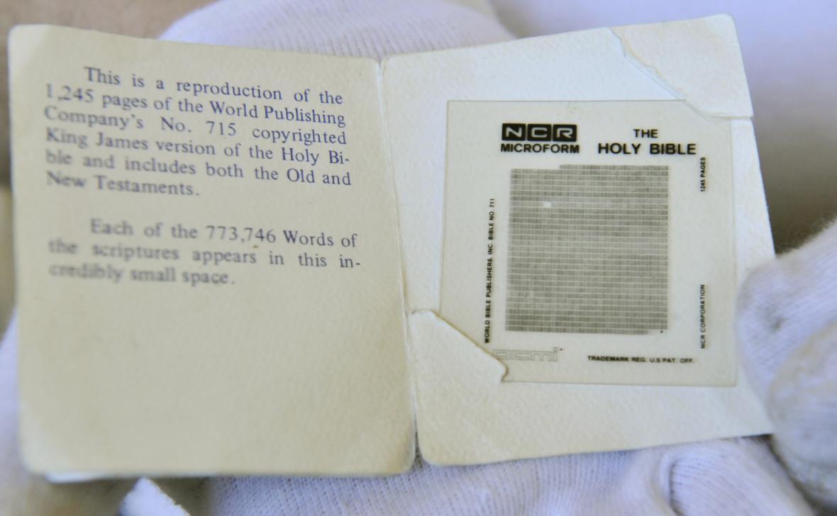 Výstava Bible včera, dnes a zítra