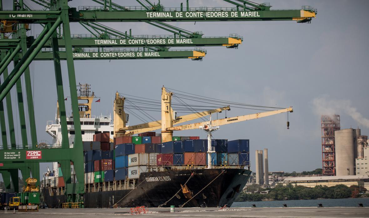 Speciální hospodářská zóna v kubánském přístavu Mariel