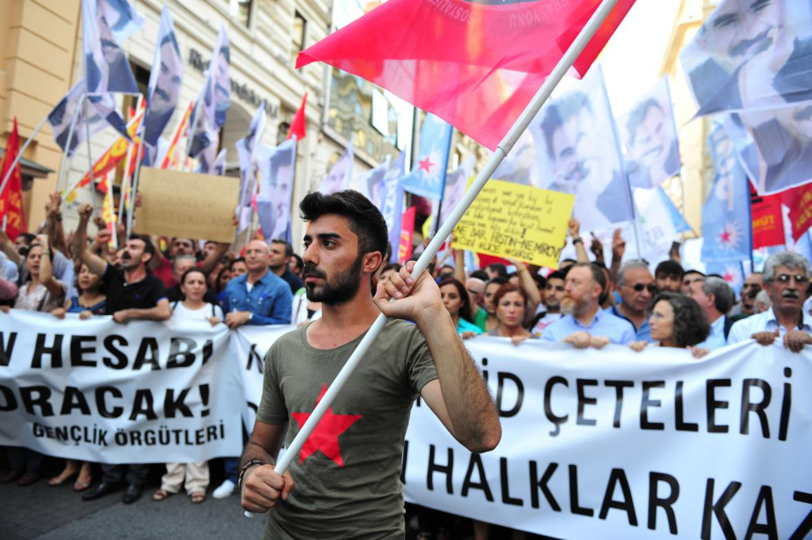 Protesty v Turecku