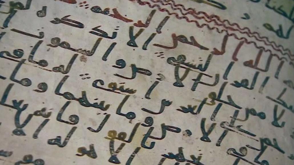 Fragmenty objevené na Birminghamské univerzitě