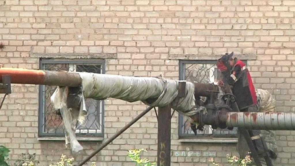 Následky bojů v Debalceve
