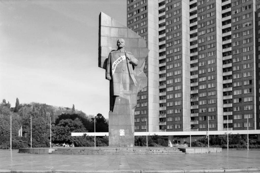 V.I. Lenin ve Východním Berlíně