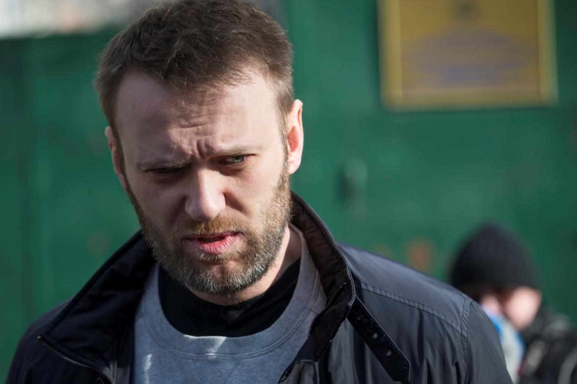 Alexej Navalnyj opouští vězení