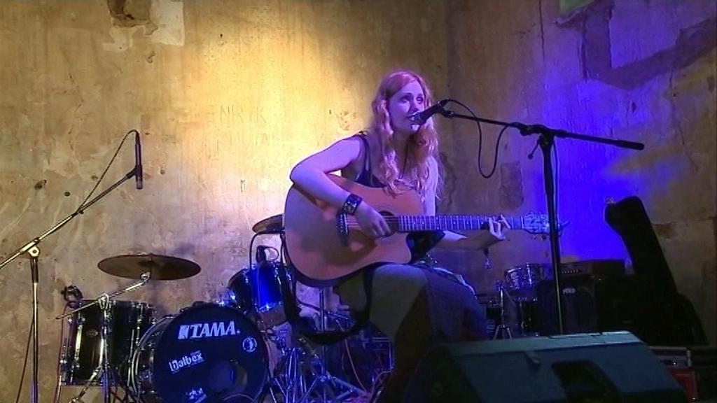 Hudební festival v zaniklé vsi Pelhřimovy