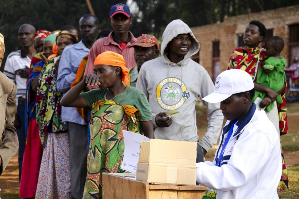 Prezidentské volby v Burundi