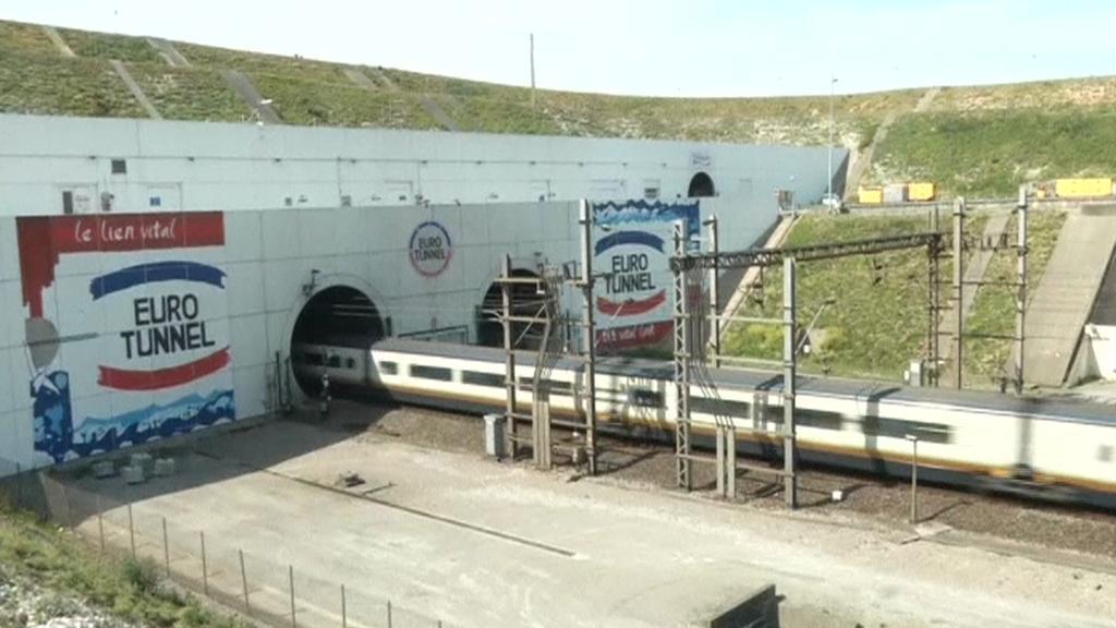 Eurotunel pod kanálem La Manche