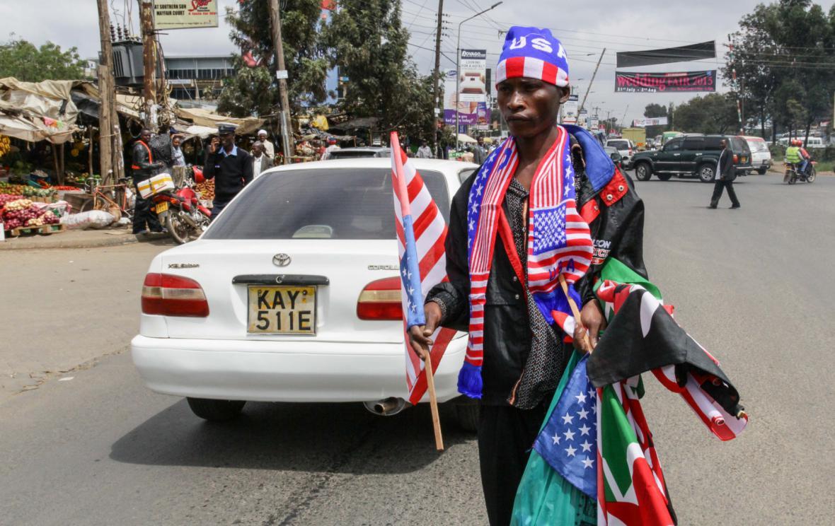 Návštěvou Obamy v Keni žijí i obchodníci